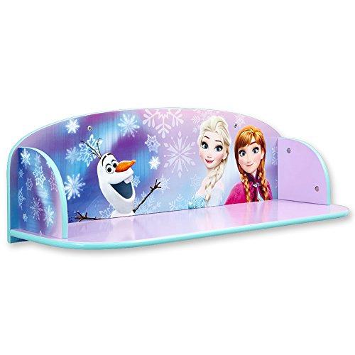 TW24 Regal - Kinder Regal - Disney Bücherregal - Wandregal - Bücherregal mit Motivauswahl (Frozen)