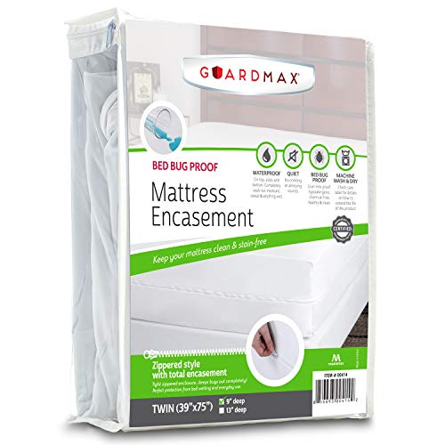 Guardmax Bed Bug Mattress Protector Cover Zippered | 100%...