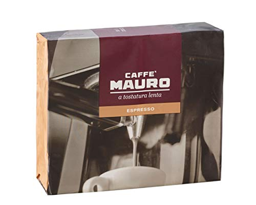 Caffè Mauro Espresso - Macinato per espresso, 4 confezioni Bipack (250gr x 2) - Totale 2kg
