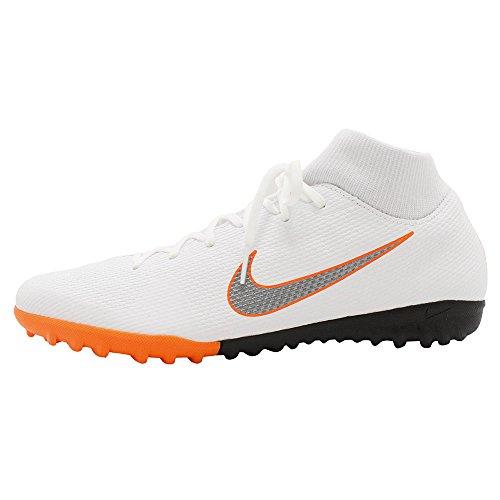Nike Unisex-Erwachsene Mercurial Superfly X 6 Academy TF Ah7370 Fußballschuhe, Weiß, 40 EU