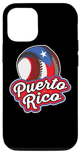 iPhone 12/12 Pro Puerto Rico Pride | Baseball Boricua Flag Case