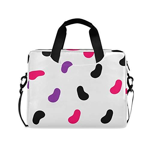 Cute Footprint 16 inch Laptop Shoulder Bag Travel Laptop Briefcase Carrying Messenger Bags