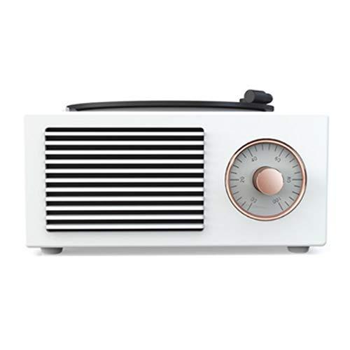 Altavoz Bluetooth, Altavoz Estéreo Portátil, Potente Efecto De Triple Bajo, Tiempo De Reproducción A Prueba De Agua 24 Horas con Alimentación Móvil Y Manos Libres (Color : White)