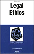 Legal Ethics in a Nutshell (West Nutshell Series)