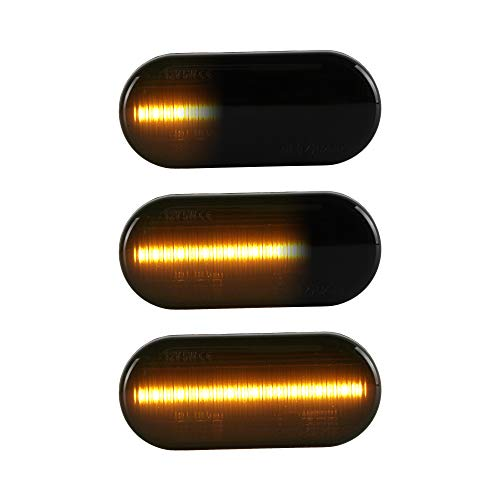 LED Seitenblinker Blinker passend für Golf 3 | 4 | Lupo | Passat 3B | 3BG | T5 | Leon | Ibiza | Fiesta | Focus |