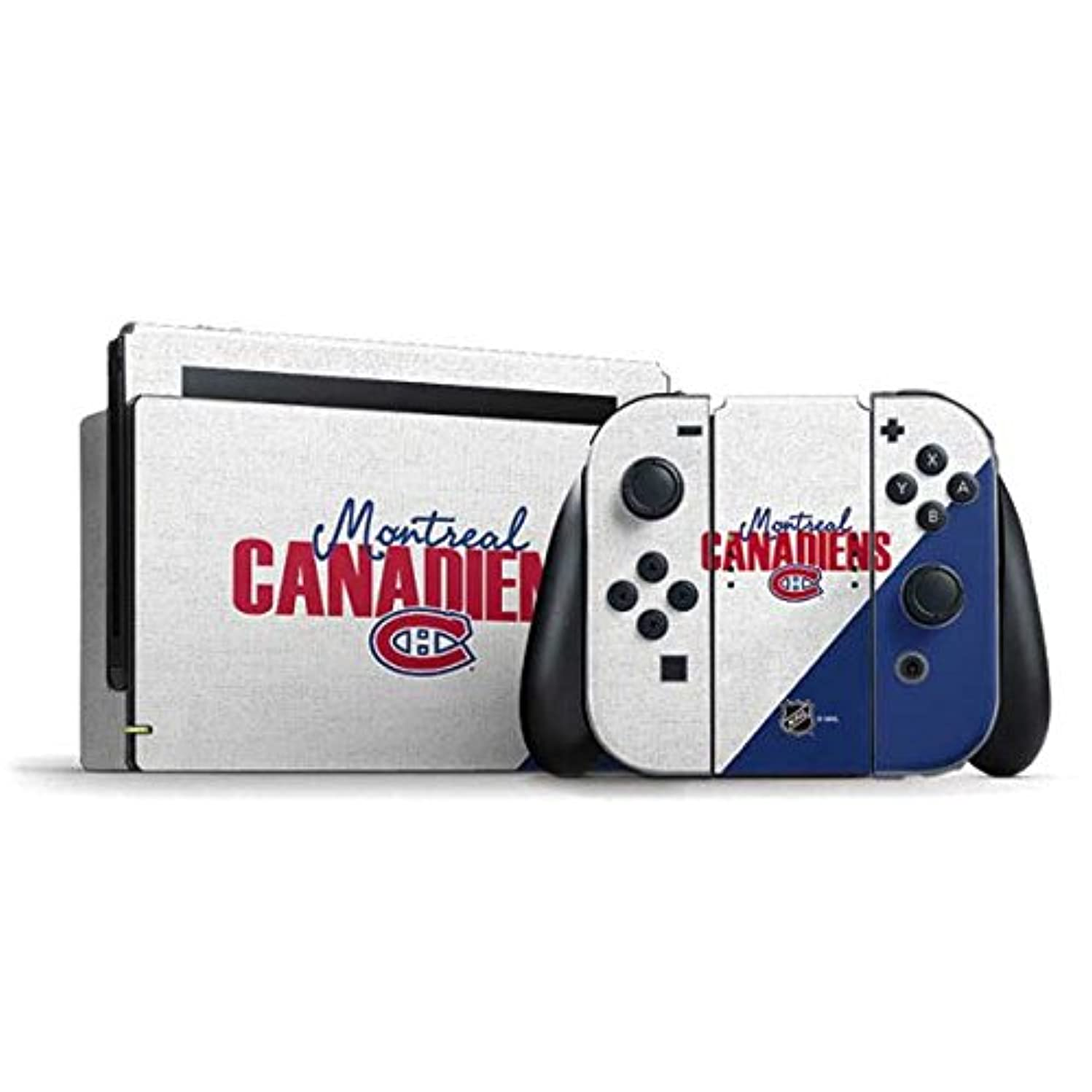 Montreal Canadiens Nintendo Switch Bundle Skin - Montreal Canadiens Script | NHL & Skinit Skin