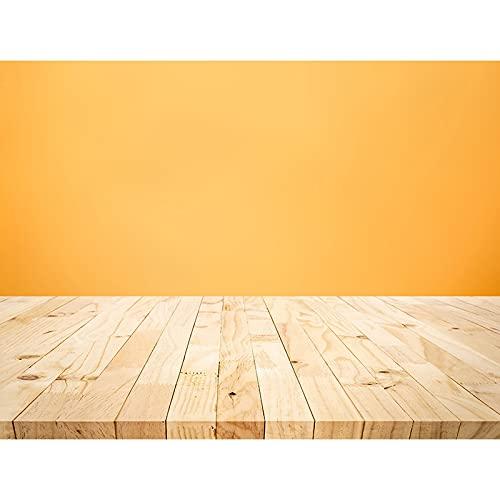 Fondo de fotografía de tablón de Madera apoyos Piso de tablón Fondo de Estudio fotográfico Fondo de fotografía de Vinilo A5 10x10ft / 3x3m