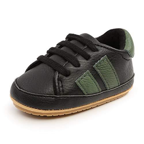 Zapatos de bebé Niños Niñas Primeros Pasos Zapatillas Deportivas Recién Nacido Plano Goma...