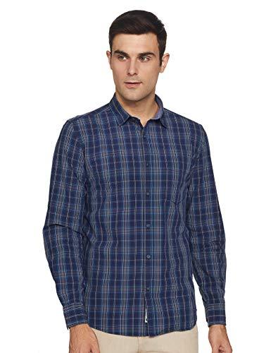 Amazon Brand – Symbol Men's Regular Casual Shirt