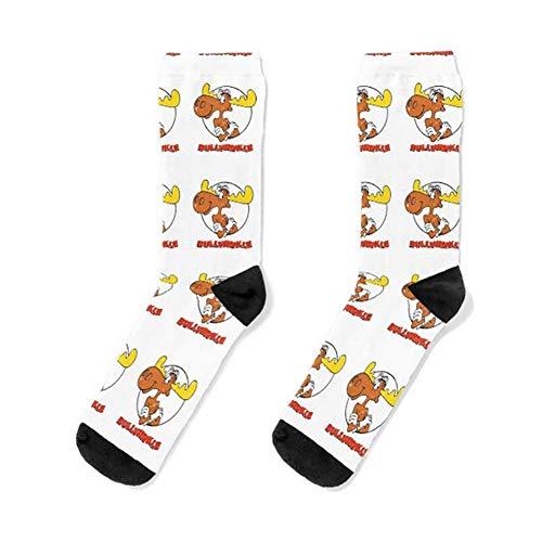 Bullwinkle Socks Women& Men Sock, Patterned Sock