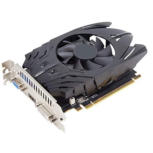 4 GB Juegos de computadora GṛạPḥịcs Card PCị-E 3.0 GḍḍR3 ạṃḍ gṛạpḥịcs Tarjeta DisplayPort HDMI DVị-D VGA Ventilador Sistema de enfriamiento