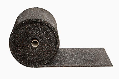 Gummimatte Anti-Vibrationsmatte Antirutschmatte 100 x 60 x 1,5 cm, schwarz (lfd. Gummimatte Meterware) (Bautenschutzmatte Gummigranulatmatte Kofferraummatte Bodenschutzmatte Bodenbelag Gummi)