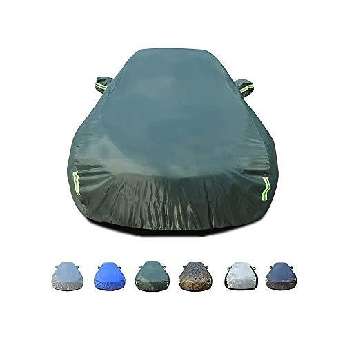 ZBM-ZBM compatibel met Chevrolet paardendeken, auto-afdekking, UV-bescherming buiten, ademend, waterdicht, ademend en winddicht. Groen