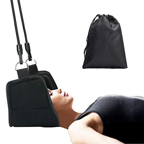 Charminer Hals Hängematte, Halshängematte Kopf Nackenmassagegerät für chronische Nacken und Schulterschmerzen Kopf Bessere Hals Relax Tragbare Nacken Massagegerät für Büro Haus für Männer Frauen