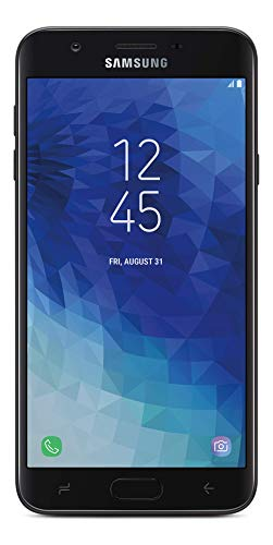 TracFone Carrier-Locked Samsung Galaxy J7 Crown 4G LTE Prepaid Smartphone - Black - 16GB - Sim Card Included - CDMA