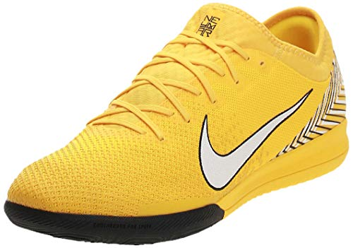 Nike Vapor 12 Pro NJR IC, Zapatillas de Deporte Unisex Adulto, Multicolor (Amarillo/White/Black 710), 42 EU