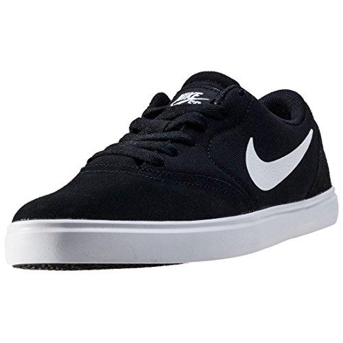 Tênis de skate Nike Kids Sb Check (GS), Preto/branco, 3.5 Big Kid