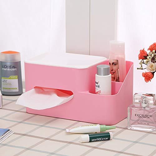 Bod Creative Version coréenne de la boîte de Tissu de Bureau Multi-Fonction cosmétique boîte de Rangement en Plastique boîte de contrôle à Distance Plateau