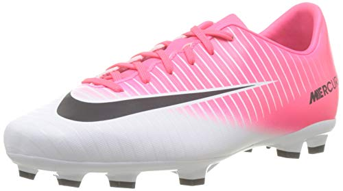 Nike Mercurial Victory FG Jr r35.5, Unisex Multisport Indoor Schuhe, Mehrfarbig (Multicolor #0000001), 35.5 EU (2.5 UK)