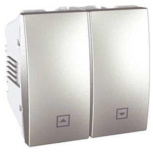 Schneider Electric U3.208.30 Interruptor de Persianas 10A Aluminio