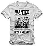 Bisura T-Shirt Wanted Bud Spencer e Terence Hill dal Film Lo Chiamavano Trinità (- XL Uomo)