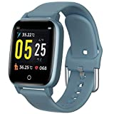 Fitness Tracker Blood Pressure Heart Rate Monitor Smart Watch 15 Days Long Stand
