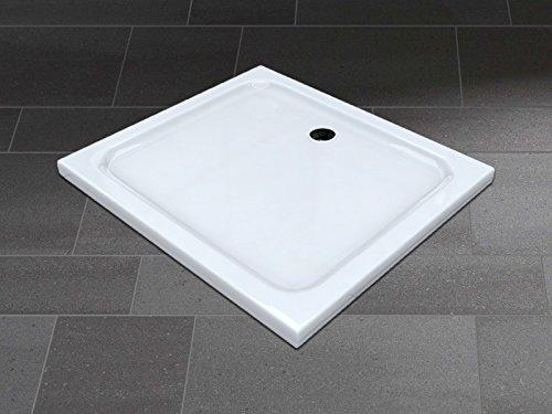 Receveur de douche receveur de douche extra plat acrylique Tasse Blanc 100 x 90 cm – 50 mm