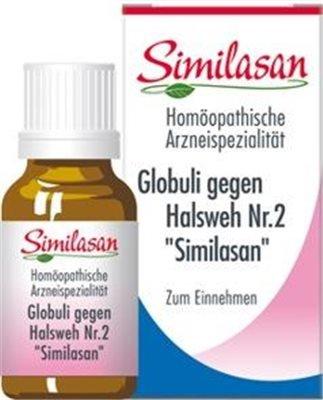 Globuli Similasan gegen Halsweh Nr. 2 (15 G)