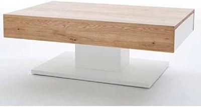 Berlioz Table Et City BlancBois Cérusé Basse Box Creations Chêne W2eEIYDH9b