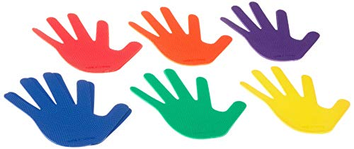 American Educational Products Hand Markers, Assorted Colors, Set of 6