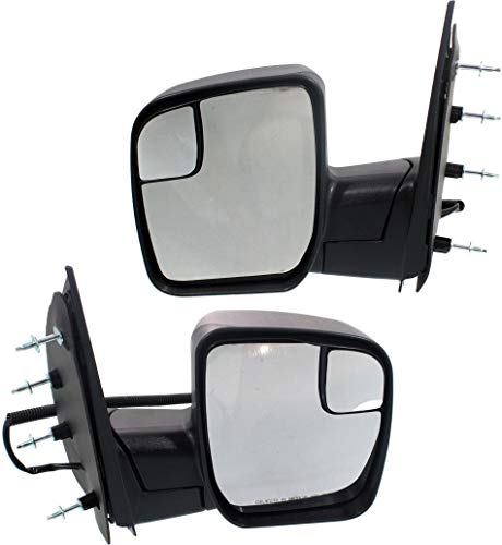 Kool Vue Power Mirror compatible with Ford Econoline Van 10-14 Right and Left...