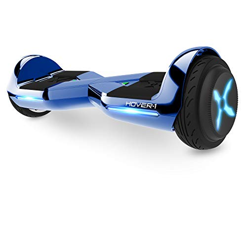 Hover-1 Dream Hoverboard Electric Scooter Light Up LED Wheels Blue Dream, 25 x 9 x 9