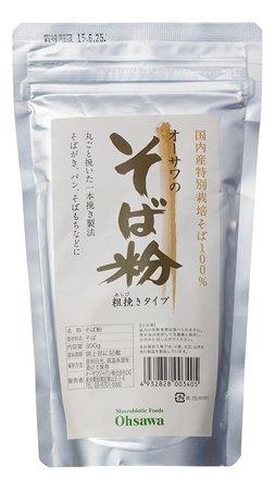 そば粉(荒びき)  300g