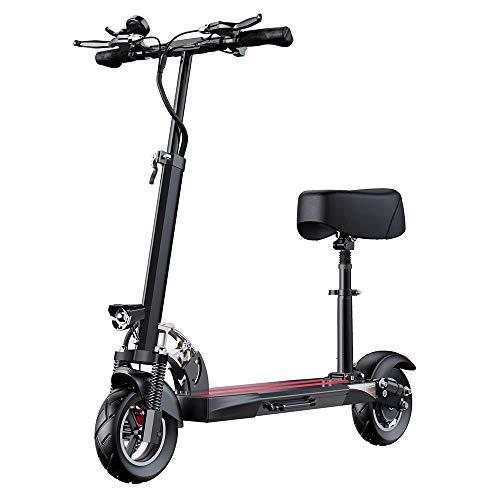 AJAC Elektrische Kick Scooter, 3 Snelheid Verstelbaar 10 Inch Max 350W High Power Motors, Ultra Lichtgewicht 3 Seconden Vouwen E-Scooter voor Tiener