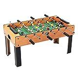 Football Baby-Foot Grand Table de Jeu de garçon de Puzzle Table de Baby-Foot Jouets pour Enfants Jeux pour Adultes Cadeaux Jeux Amusants de Bureau Sports (Color : Wood, Size : 81.5 * 42.5 * 42.5cm)