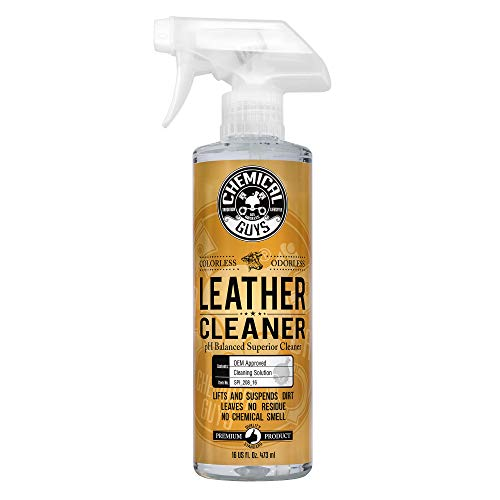 Chemical Guys SPI_208_16 Colorless and Odorless Leather Cleaner,16 oz
