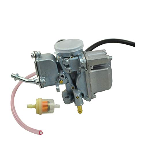 liutao Carburador Carburador carbohidrato Compatible con Yamaha Moto 4 yfm 80 yfm80 Raptor 50 yfm50 yfm100 campeón 100 yfm100 Partes del Motor