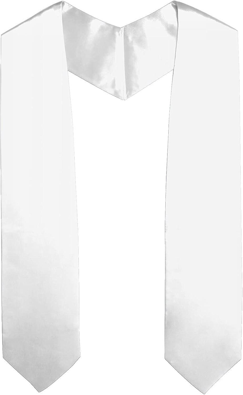 SAMDEEMI Unisex Adult Plain Graduation Stole Free Shipping New Sash,match 70% OFF Outlet the