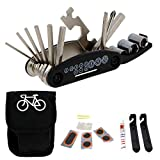 SCHOBERG Fahrradwerkzeug Fahrrad Reparaturset Werkzeugset Fahrradflicken Multifunktionswerkzeug