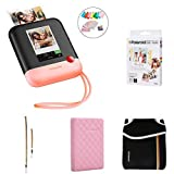 Polaroid Pop 2.0 2 in 1 Portable Instant 3x4 Photo Printer & Digital 20MP Camera (Pink) with Extra Paper, Album, Case, Colorful Neck/Hand Strap