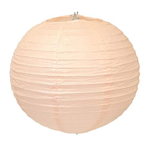 Papier Lampion lanterne de mariage ou soirée 20 cm. Appartement Décoration abricot
