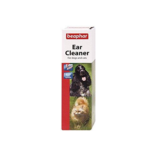 Beaphar Limpiador de Oídos Perro y Gato, negro