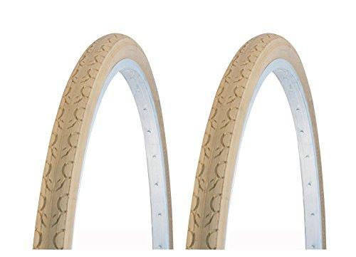 ONOGAL 2x Kenda durchstichsichere Fahrradreifen, beige, 700 28C 22 TPI, Fahrrad 3493
