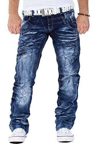 Kosmo Lupo Herren Jeans Hose KM040 W34/L34