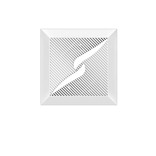 JYDQM Ventilador silencioso Ultrafino para baño con Ventilador de Escape Integrado en el Techo en el Ventilador de ventilación de Humo de la Cocina del hogar