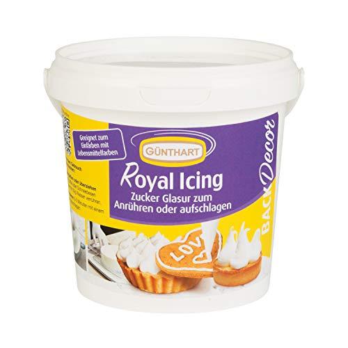 Günthart Royal Icing Pulver Eimer mit 300g | Royal Icing | Masse Pulver