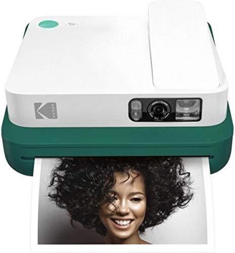 Kodak Smile Classic Digital Sofortbildkamera für 3,5 x 4,25 Zink Fotopapier - Bluetooth, 16 MP Bilder (grün)