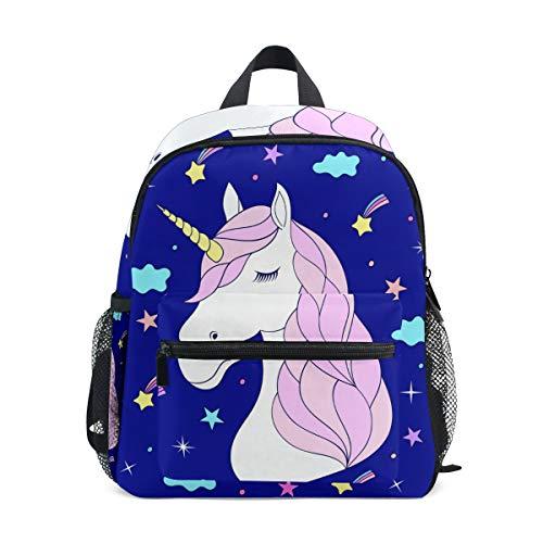 Ahomy Einhorn Pferd Wolken Kinderbuch Rucksack Baby Kind Schultasche Kindergarten Daypack