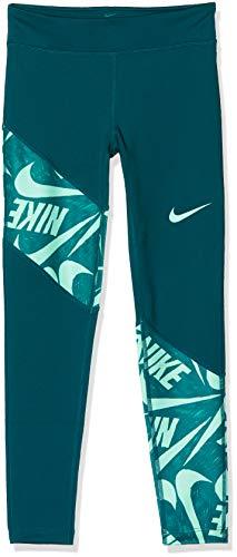Nike Mädchen G NK Trophy Tight FG Sport Trousers, Midnight Turq/Midnight Turq/(Emerald Rise), XL
