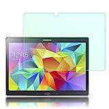 NALIA Schutzglas kompatibel mit Samsung Galaxy Tab S 10.5', Full-Cover Bildschirmschutz Tablet-Folie, 9H Festigkeit Glas-Schutzfolie Display-Abdeckung, Schutz-Film Clear HD Screen Protector - Transparent
